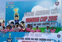 Những pha bóng hay trong trận CK Festival bóng đá học đường U.13