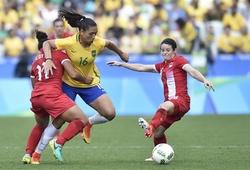 Nữ Brazil - Nữ Canada: Mất cả huy chương đồng