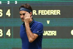 Roger Federer 2-0 Malek Jaziri: Ghi tên vào tứ kết