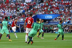 Ronaldo thất bại trong cuộc đua danh hiệu Bàn thắng đẹp EURO 2016