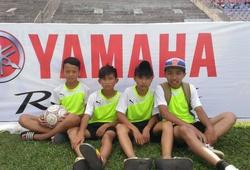 Sự hồn nhiên của các cầu thủ THCS Trần Quang Diệu