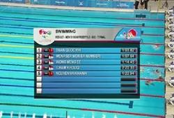 Trần Quốc Phi vượt khó giành HCV nội dung 100m tự do