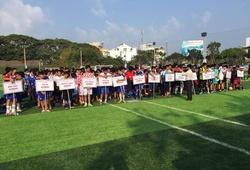Truyền hình Cần Thơ đưa tin về Festival bóng đá học đường U.13 Yamaha Cup 2016