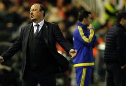 Benitez bị học trò 'bỏ rơi' trong trận hòa trước Valencia