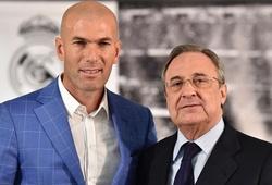 Khoảnh khắc nhậm chức HLV Real Madrid của Zidane