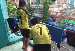 Video: Phóng sự về trường THCS Nguyễn Thị Định tự lập khi xa nhà