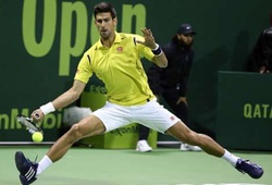 Video Qatar ExxonMobil Open: Novak Djokovic 2-0 Dustin Brown