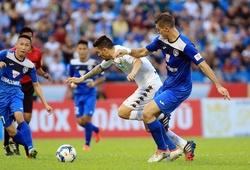 Video T. Quảng Ninh - Hà Nội T&T: Mưa bàn thắng trên sân Cẩm Phả