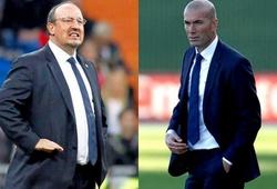 Zidane 'húc đổ' Benitez, ngồi vào ghế nóng tại Bernabeu