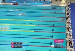 Võ Huỳnh Anh Khoa phá kỷ lục 100m tự do