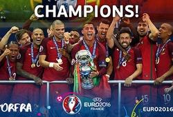 Bồ Đào Nha thiết lập hàng loạt kỷ lục với chức vô địch lịch sử