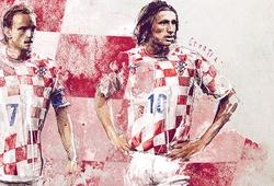 Chân dung Đội tuyển Croatia tại EURO 2016