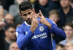 """Chân sút """"Mèo đen"""" mắn bàn hơn Diego Costa trong ngày Lễ tặng quà"""