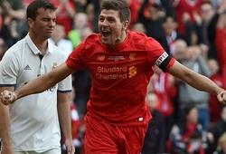 Owen và Gerrard đưa Anfield tái hiện quá khứ trước các huyền thoại Real Madrid