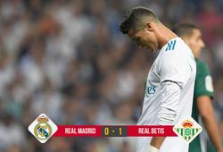 Kết quả bóng đá: Ronaldo tịt ngòi, Real thua sốc ở phút bù giờ