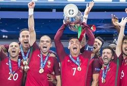 Những hình ảnh ấn tượng của lễ bế mạc và trận chung kết EURO 2016