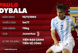Thông tin cầu thủ Paulo Dybala của ĐT Argentina dự World Cup 2018