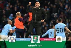 """Nhận định bóng đá: Pep có """"bài"""" giúp Man City trị """"ngựa ô"""" Bristol"""