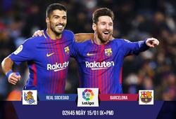 """Nhận định bóng đá: """"Cơn điên"""" của Messi giúp Barca xóa dớp Anoeta"""