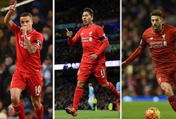 """Hàng công Liverpool: Thăng hoa nhờ những… """"số 10"""""""