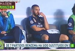 Benzema hậm hực với Benitez