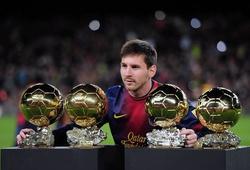 Điểm lại những huyền thoại QBV châu Âu/FIFA