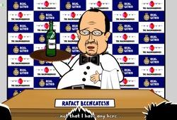 Cuộc họp báo cuối cùng của Rafa Benitez