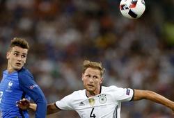 Video diễn biến đáng chú ý trong trận đấu giữa ĐT Đức và Pháp
