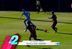 Cầu thủ trẻ La Masia lập siêu phẩm solo như Messi