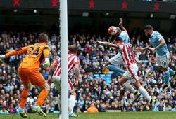 Video Ngoại hạng Anh: Man City 4-0 Stoke City
