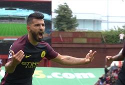 Video Stoke City 1-4 Man City: Cơn mưa bàn thắng