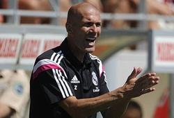 Zidane và thành tích khiêm tốn trên ghế huấn luyện