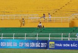 20 khán giả ngồi lọt thỏm sân Thống Nhất xem giải VĐQG nữ 2017