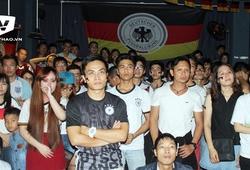 Nụ cười và nước mắt của CĐV Đức tại Việt Nam
