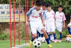 Sao nhí tiến bộ nhờ Festival bóng đá học đường U.13 - Cúp Yamaha