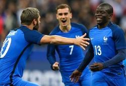 """V.League với EURO 2016: Tuyển Pháp không """"bắt tay"""" với Thụy Sỹ"""