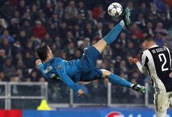 """Ronaldo """"bay"""" cao thế nào khi ghi bàn """"xe đạp chổng ngược"""" trước Juventus?"""