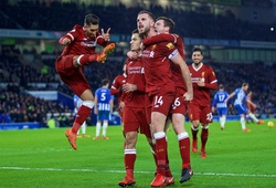 Trực tiếp Brighton - Liverpool: Thắng 5 sao Liverpool vững trong Top 4