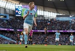 Trực tiếp trận Man City - Arsenal: Thắng 3-1, Man City vững ngôi đầu