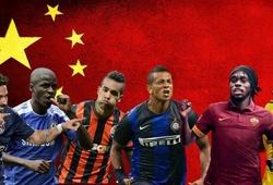 Cầu thủ lớn thi đấu tại Trung Quốc: Người vinh quang, kẻ thất bại