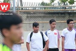 Cầu thủ U13 bóng đá học đường trưởng thành sau chuyến du đấu Nhật Bản