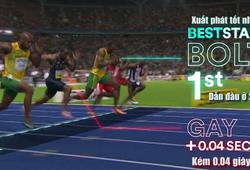 Làm thế nào để chạy 100m hoàn hảo như Usain Bolt?