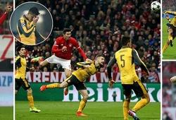 Lọt lưới 5 bàn, Arsenal thua tơi tả trước Bayern Munich