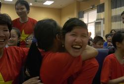 Xúc động hình ảnh trẻ khiếm thị tiếp sức U23 Việt Nam vào chung kết U23 châu Á