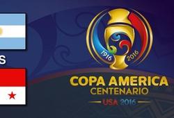 Trực tiếp bảng D Copa America: Argentina vs. Panama