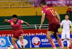 Video: Sài Gòn FC chạm bóng 30 lần trước khi xé lưới Quảng Nam