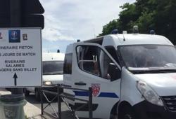Video: An ninh được thắt chặt trước trận chung kết EURO 2016