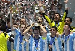 Video: Argentina lần đầu lên ngôi vương tại Futsal World Cup