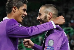 Video: Benzema giúp Real thoát hiểm phút cuối trước Sporting