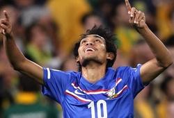 Video: Dangda lập cú đúp, Thái Lan có 1 điểm trước Australia